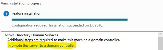 Configuring AD
