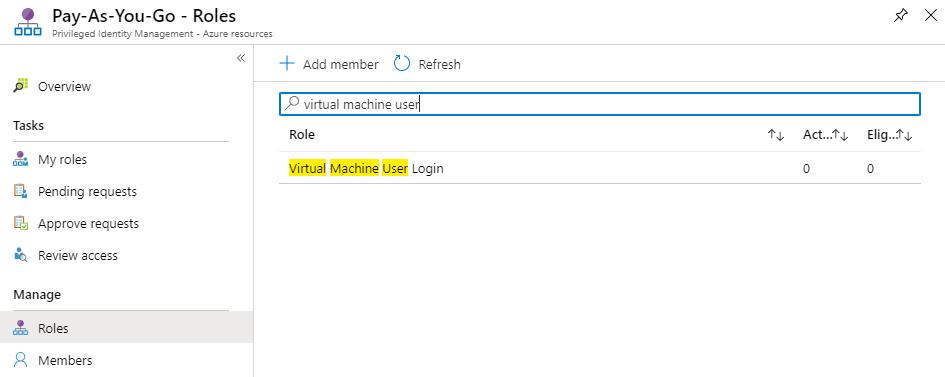 Virtual Machine User Login