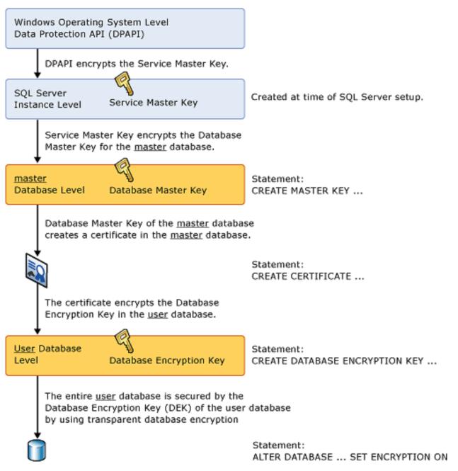 TDE hierarchy