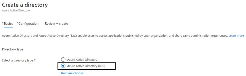 Choosing B2C