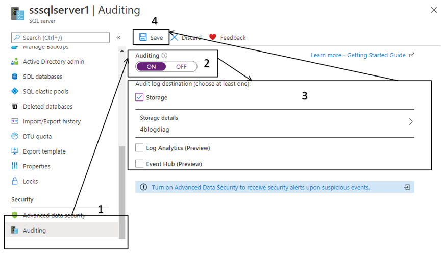 Enable Audits