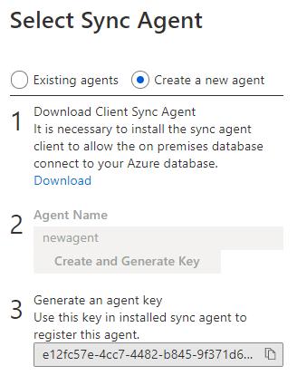 Sync Agent.